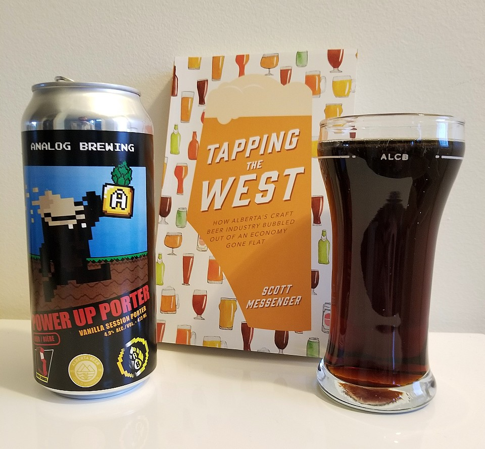 power up porter by analog brewing