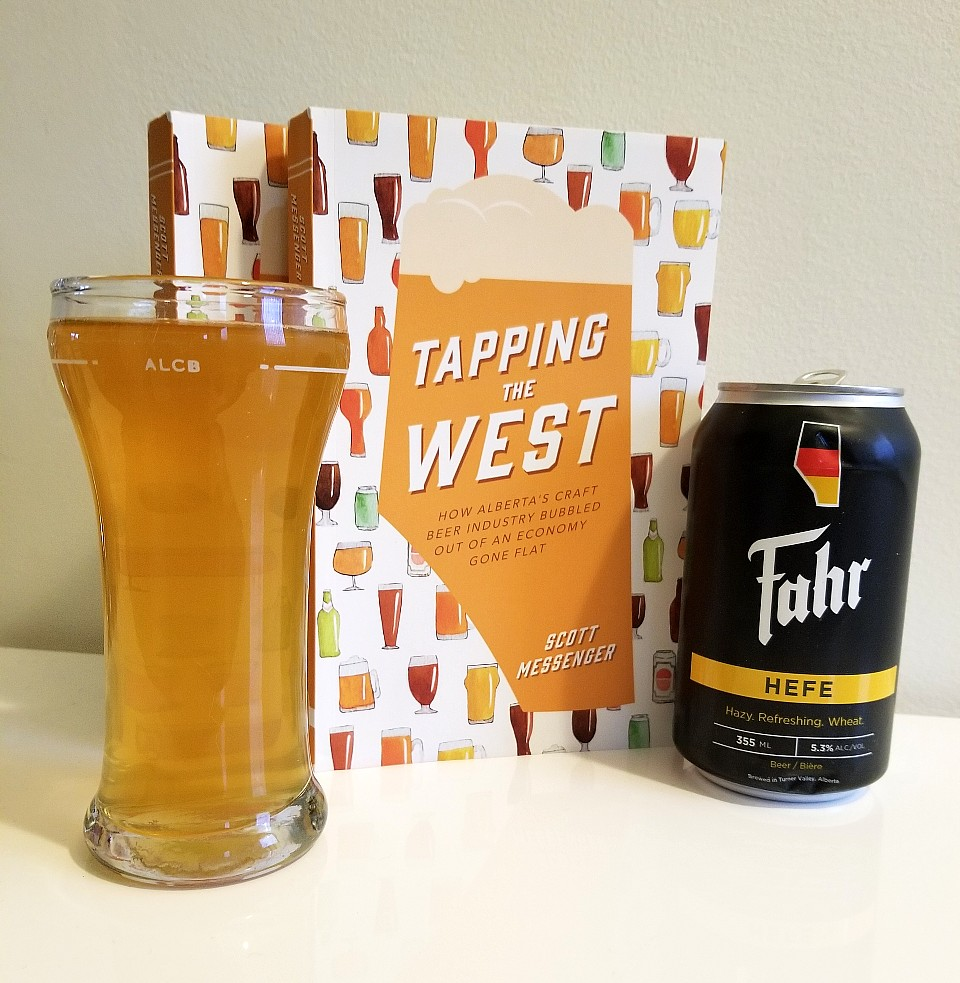 fahr hefe wheat ale and tapping the west by scott messenger