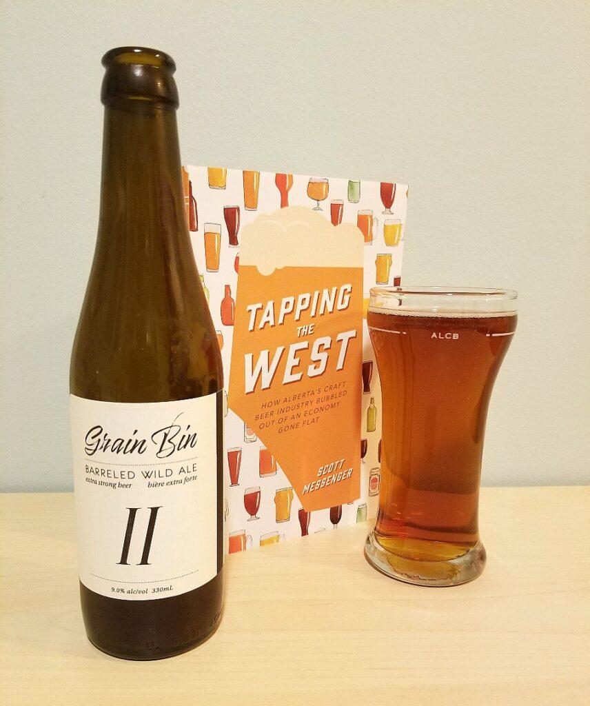 grain bin II wild ale by grain bin brewing
