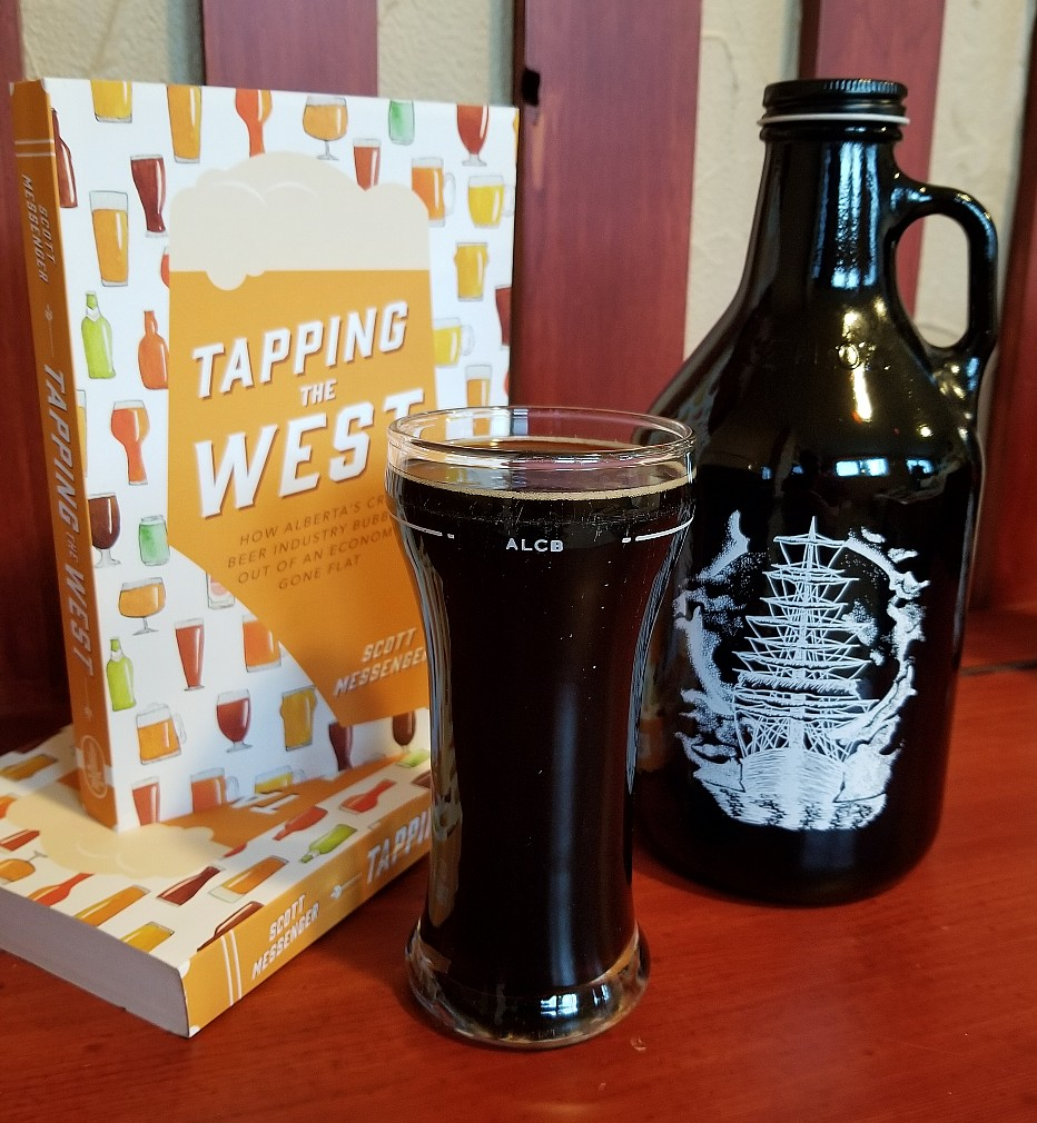 tapping the west book and outcast stout