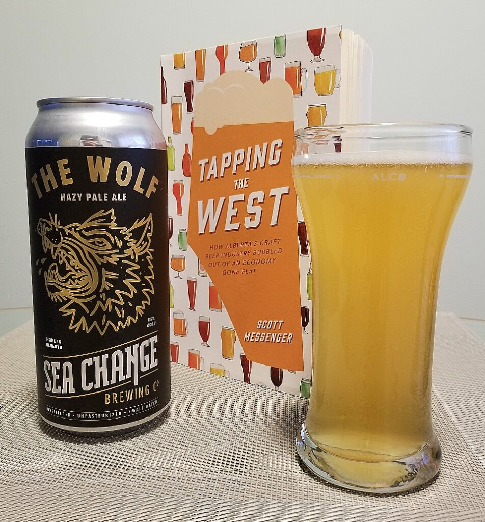 sea change the wolf hazy pale ale