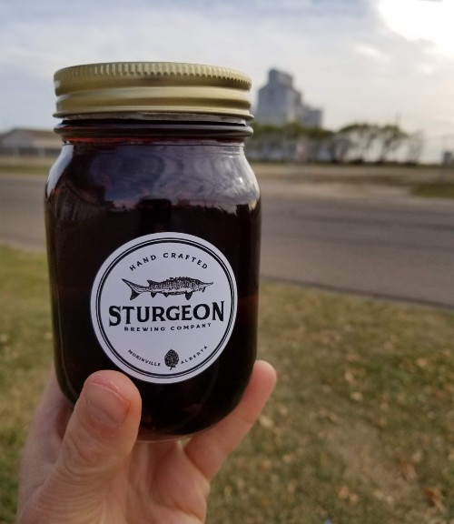dark mild beer, sturgeon brewing co.