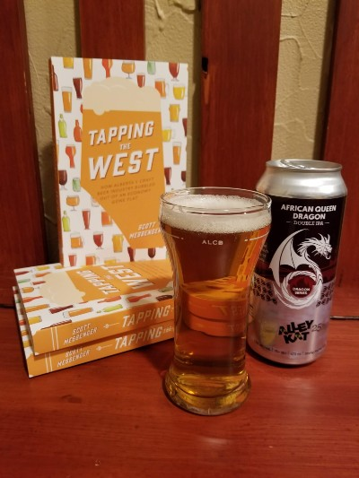 tapping the west book by scott messenger with alley kat dragon series double ipa